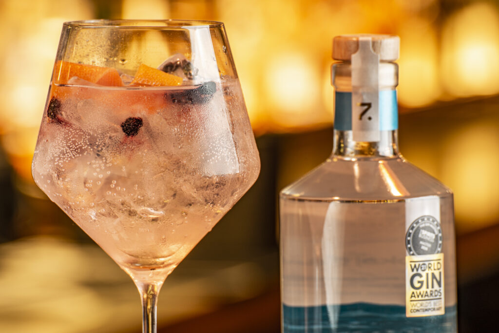 G&T - how we like it!